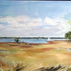 "Alexandra Sharma ""Baynard Landing Sea Pines I"""