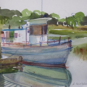 "Alexandra Sharma ""Dockside at the Salty Dog 2"""