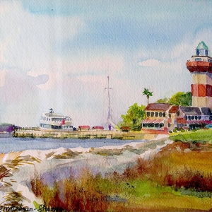 "Alexandra Sharma ""Harbor Town Light 1"""
