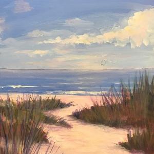 "Dona Rhodes ""Happy Beach"""