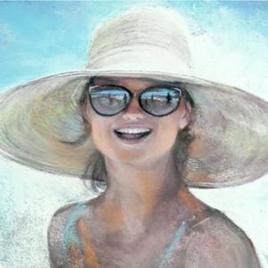 "Joyce Nagel ""Beach Babes"""