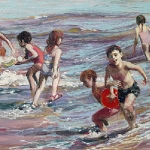 """Joyce Nagel """"Shore Scramblers"""""""