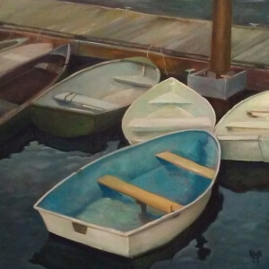 McCarthy, Susan_Small Boats_Oil