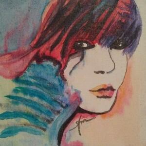 Miller, Gayle_Profile #2_Watercolor