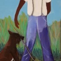 Hunter, Shirley_Good Boy_Oil_$210