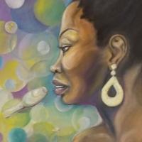 Mitchell, Vivian_Nina Simone_Oil_$800