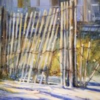 Streett, Lala Mulherin_Firefly Evening_Watercolor_$1200