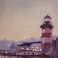 Crawford, Margaret_Lighthouse_Oil_$175