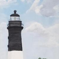 Dickson, David_Hunting Island Lighthouse_Acrylic $250