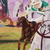 Weschke, Peg_4 Love of Horses_Fiber