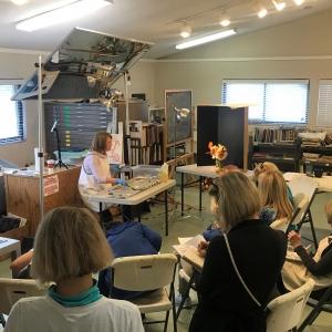 Leslie Dyas's Still Life Workshop