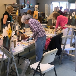 Peggy Ellis's Oil Painting Workshop