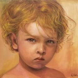 Figueroa, Luz Celeste_Innocence_Acrylic_$350