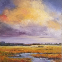 Toner, Tommie_A Lowcountry Sky_Oil_$700