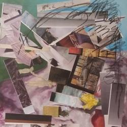 Wible, Arla Crumlick_Somersault_Mixed Media_$400